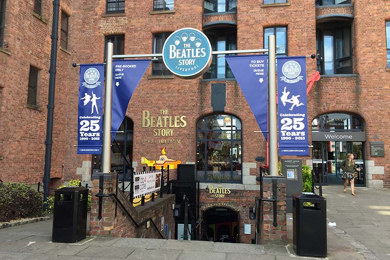 Albert Dock Beatles